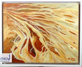 Elke M. Geenen - Strömungsperspektiven Acryl auf Leinwand, 50 x 40 cm, zzgl. Rahmen