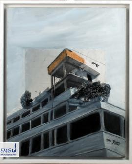 Elke M. Geenen - Hatay 4 Acryl auf Leinwand, 50 x 40 cm, Maße zzgl. Rahmen